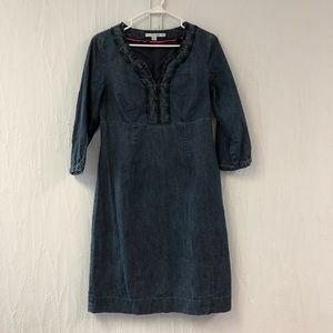 Boden Casual Dress in Vintage Denim